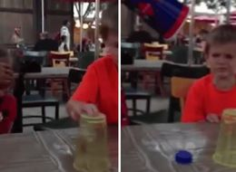 Little Girl's 'Magic' Abilities At Cup Game Seriously Irritate Her Friend
