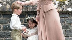 Princess Charlotte And Prince George's Wedding Outfits Designer