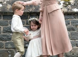 Princess Charlotte And Prince George's Wedding Outfits Designer Revealed