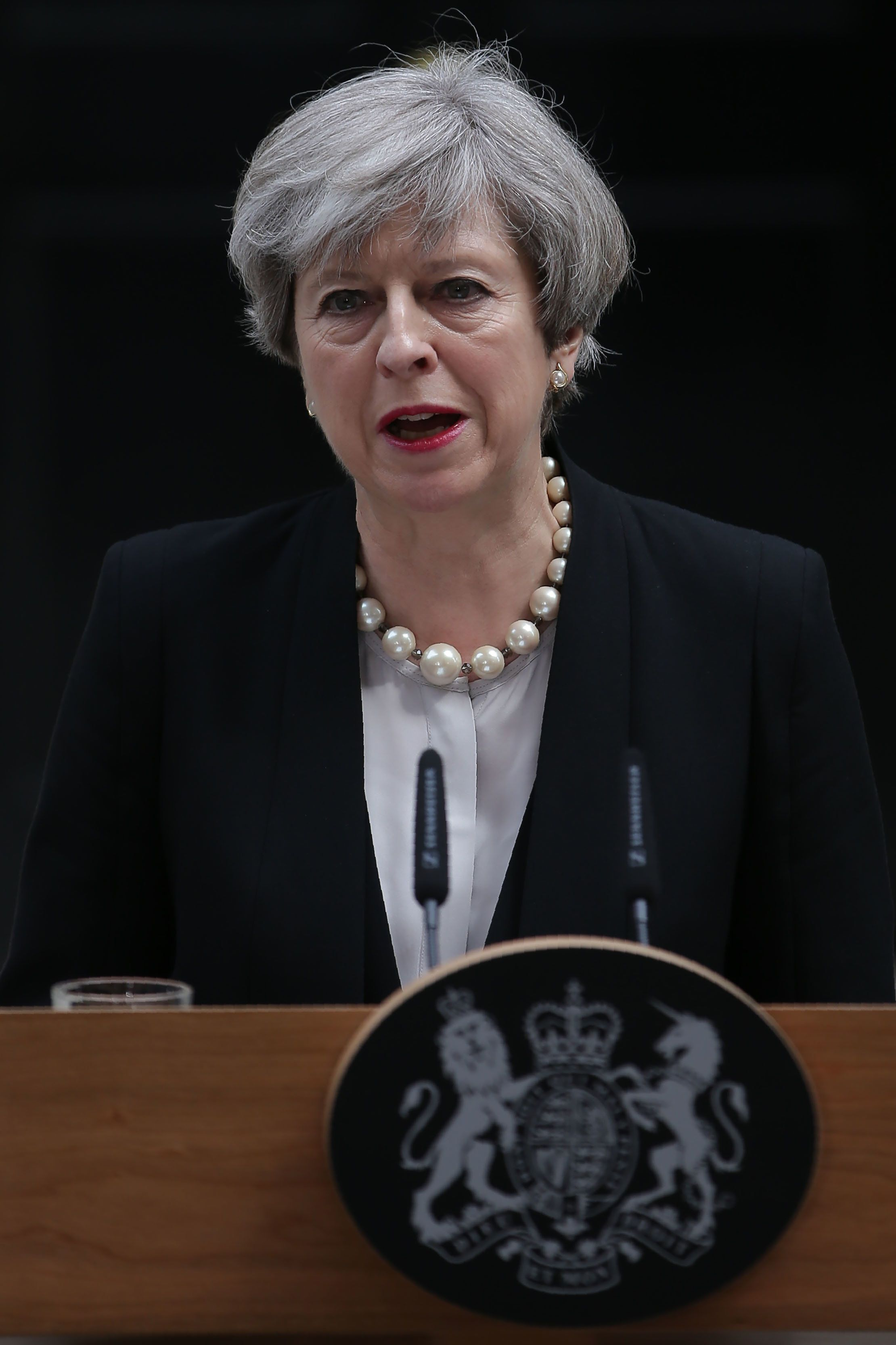 Theresa May Condemns 'Sickening Cowardice' Of Manchester