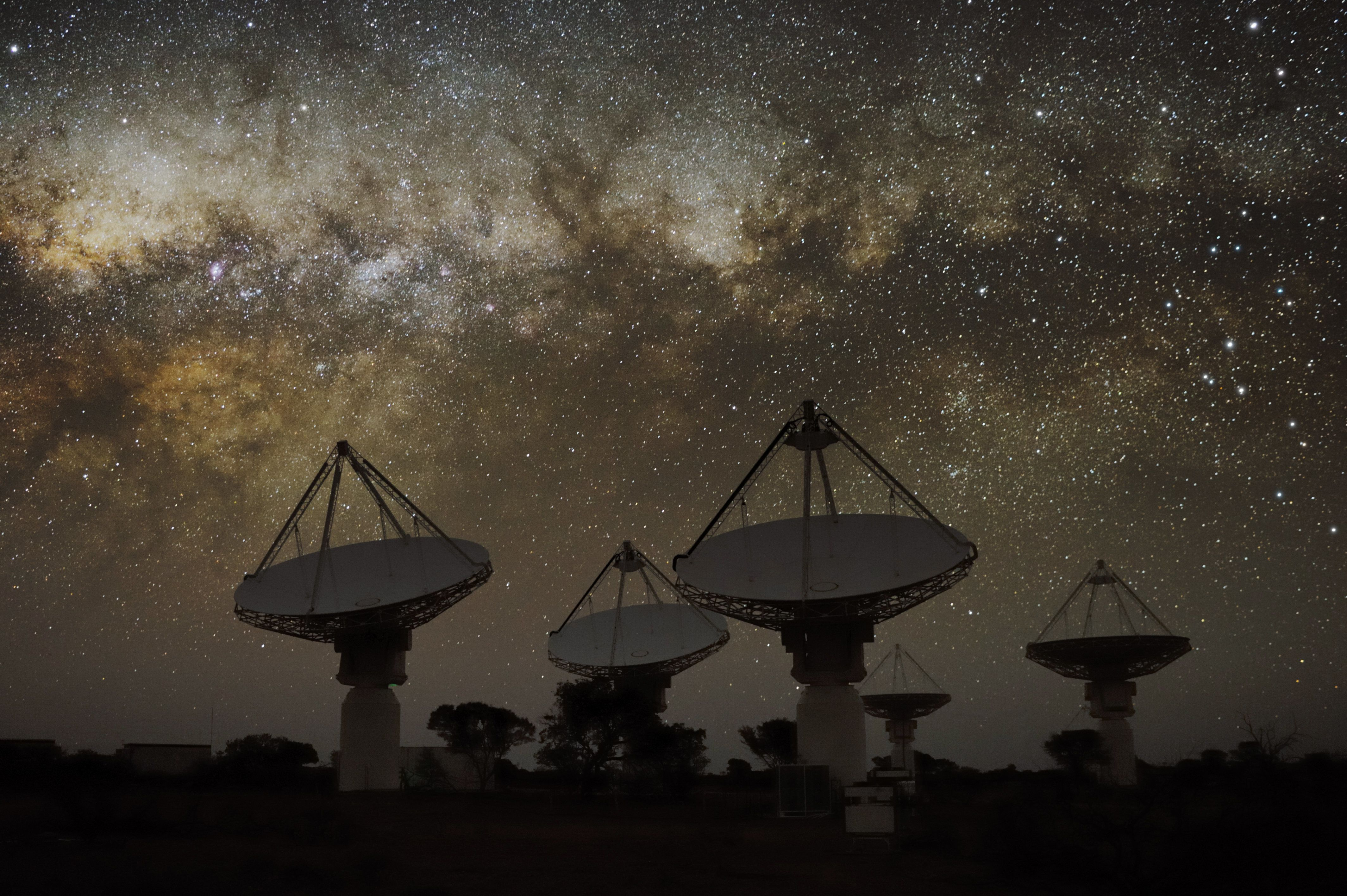 A Telescope Has Detected A Huge Radio Burst Just Days After Being Switched