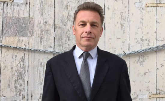 Chris Packham proudly borrowed a suit to appear in court in Malta last