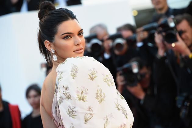 Kourtney Kardashian and Kendall Jenner Brought All Their Bra Tops to Cannes