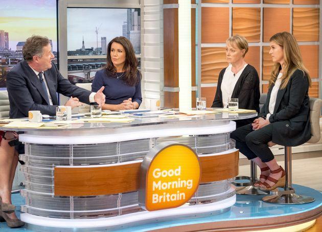 Sally Dyvenor and Gina Seddon appeared on 'Good Morning
