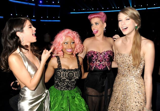 Katy and Taylor in happier times, back in