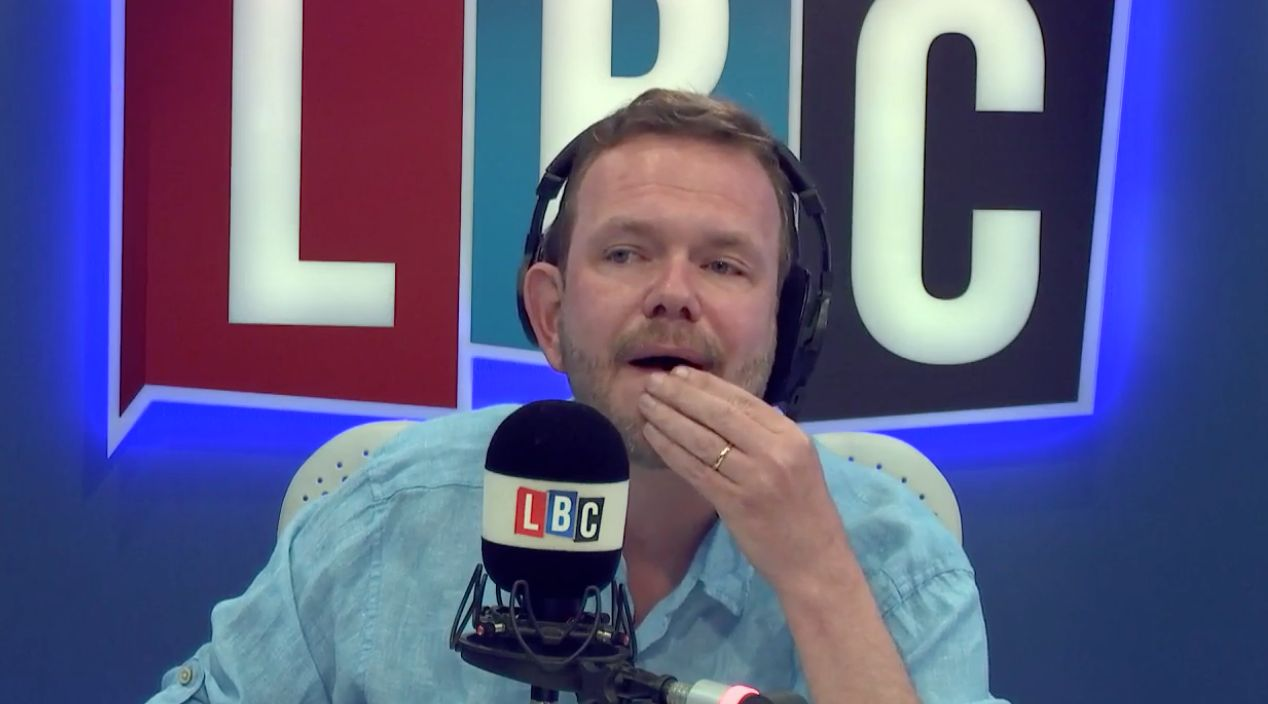 LBC presenter James O'Brien delivered a heartfelt take on the Manchester Arena