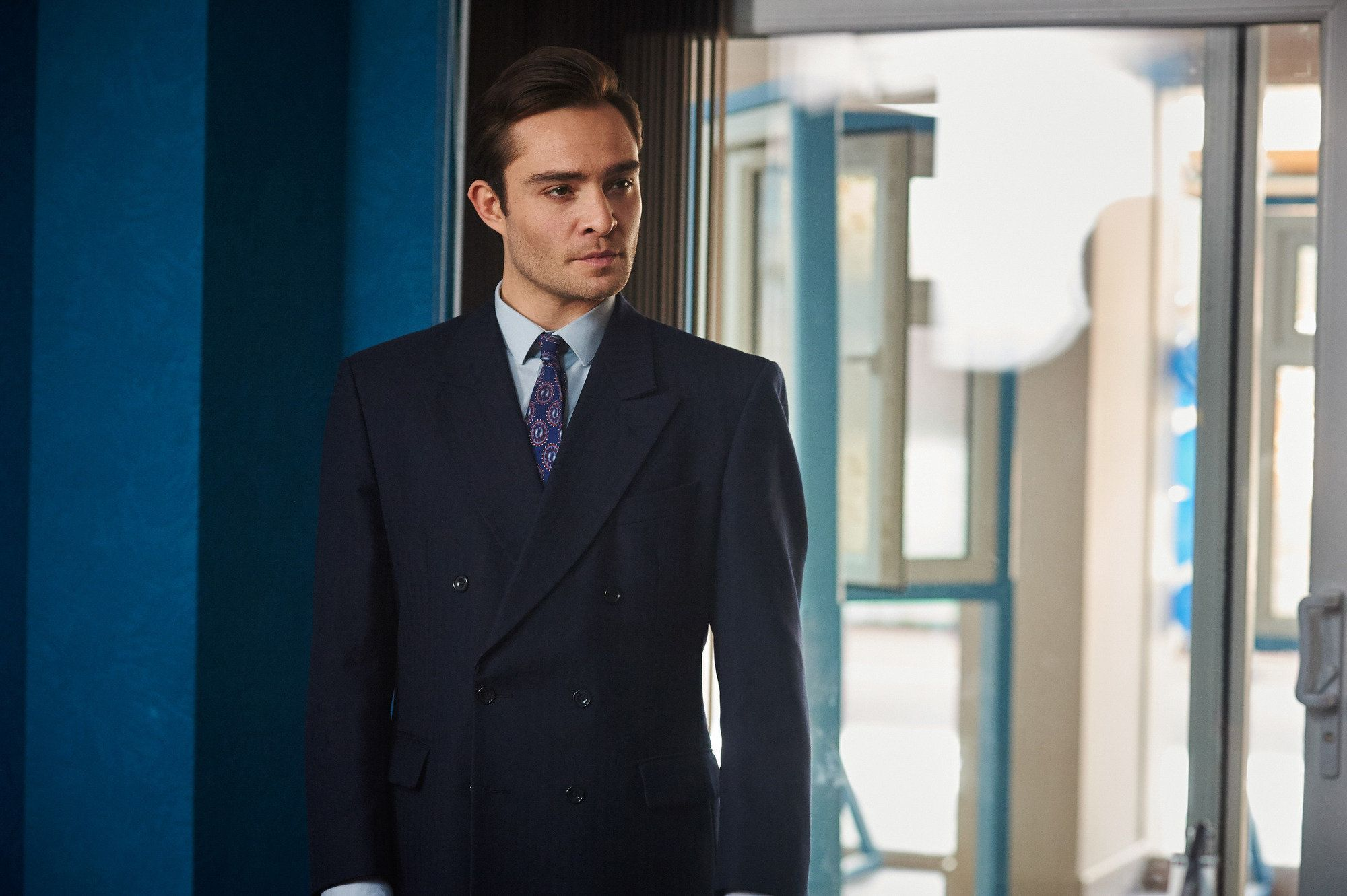 Ed Westwick says he feels better now he has a failure behind