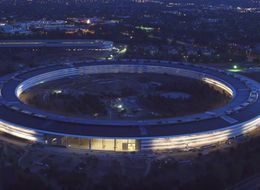 Stunning Drone Footage Reveals The Nearly Finished Apple Park At Sunset