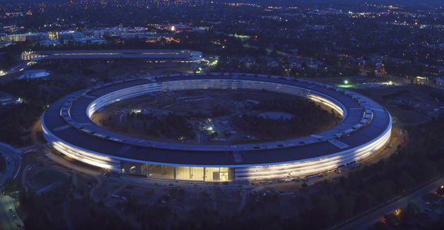 Apple Park Is Finally Starting To Look Finished In This Stunning Drone