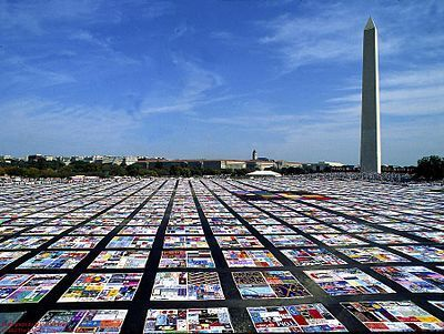 Names Project - Aids Memorail Quilts - 1987