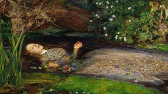 John Everett Millaiss 1851 painting Ophelia