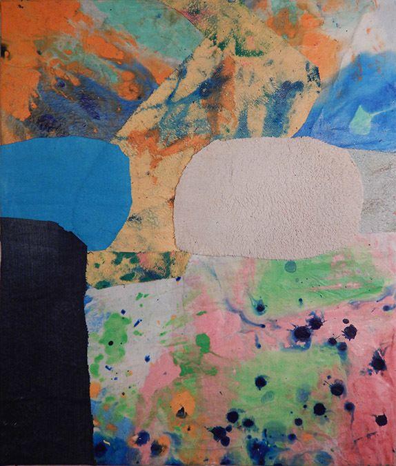 Mark Sharp, <em>Untitled 2230</em> (2016), mixed media on canvas, 28 x 24 inches