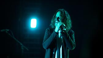 ATLANTA, GA - MAY 03:  Chris Cornell of Soundgarden performs on stage at Fox Theater on May 3, 2017 in Atlanta, Georgia.  (Photo by Paul R. Giunta/Getty Images)