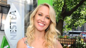 NEW YORK, NY - MAY 17:  Actress Anna Camp launches the new NESTEA in Herald Square at the NESTEA Tiny House on May 17, 2017 in New York City. Designed in part by bloggers Southern Bite, Inspired by Charm, and Hapa Time, the NESTEA Tiny House is unveiled in Herald Square.  (Photo by Craig Barritt/Getty Images)
