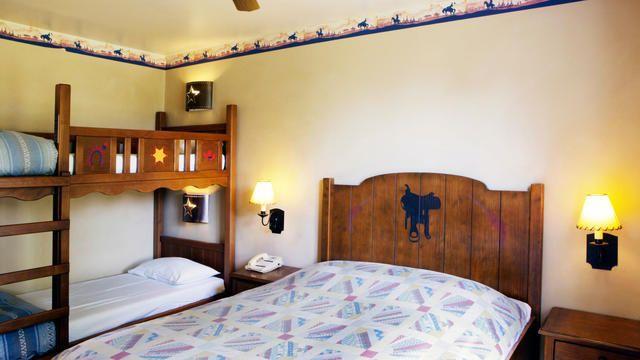 Cheyenne Hotel Guest Room