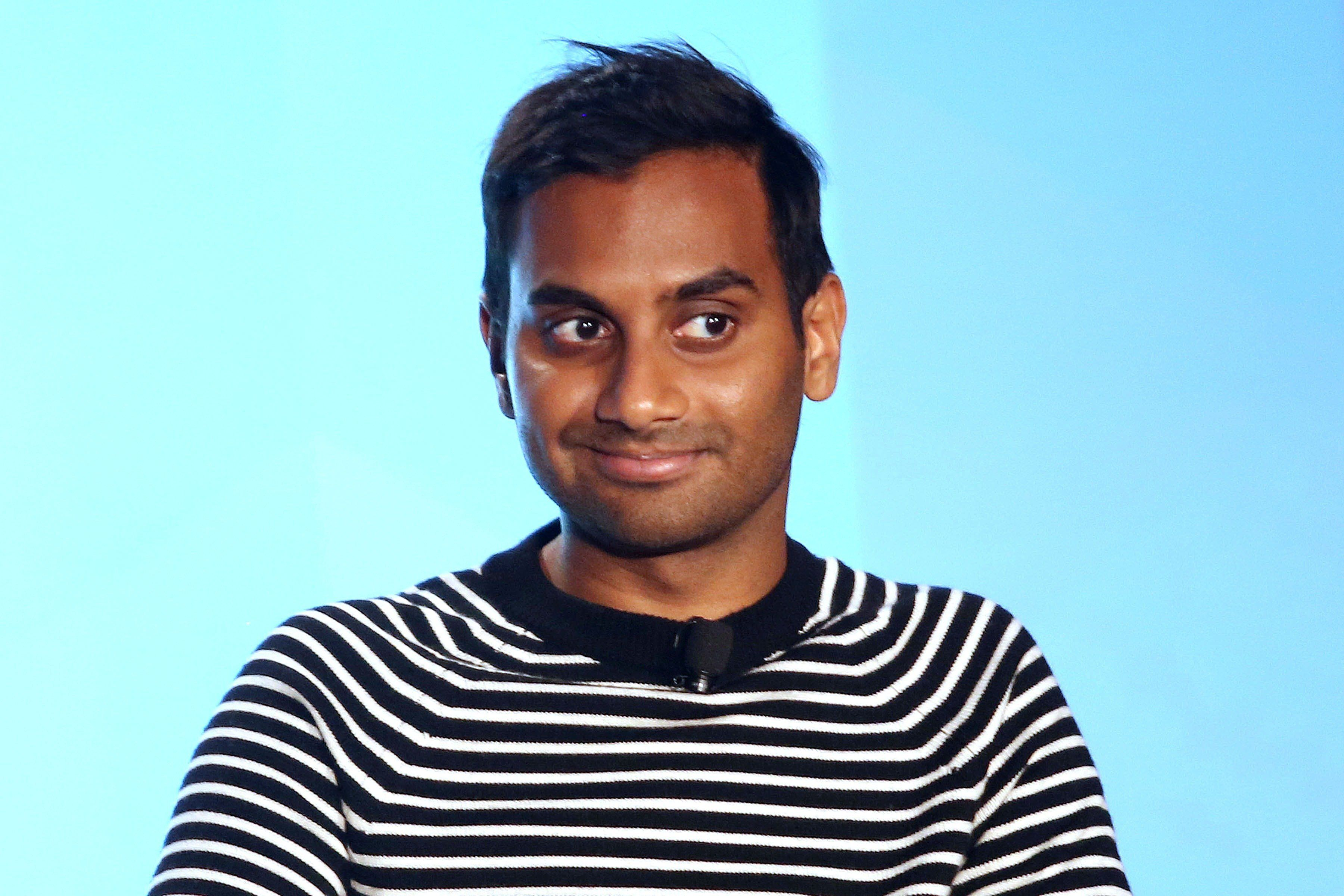 Aziz Ansari Doesn't Read, Watch Or Talk About The News