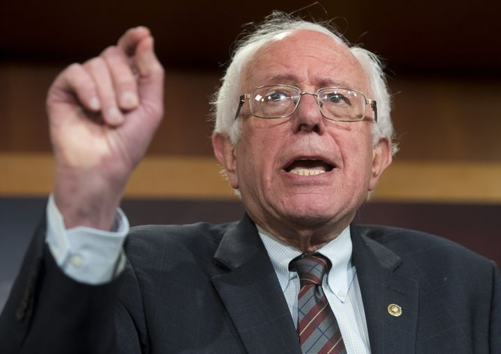 Sen. Bernie Sanders (I-Vt.) on Tuesday accused President Donald Trump of failing to live up to his campaign promises.