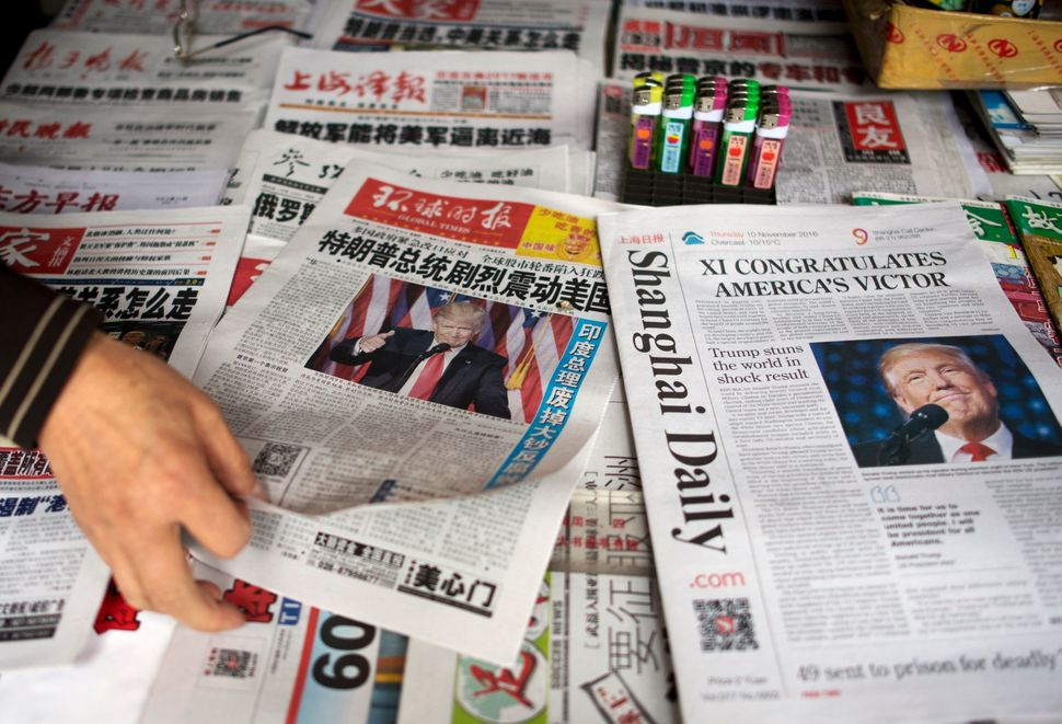 The Chinese media run the gamut from mainstream state-run newspapers to a seemingly endless number of anonymous&nbs