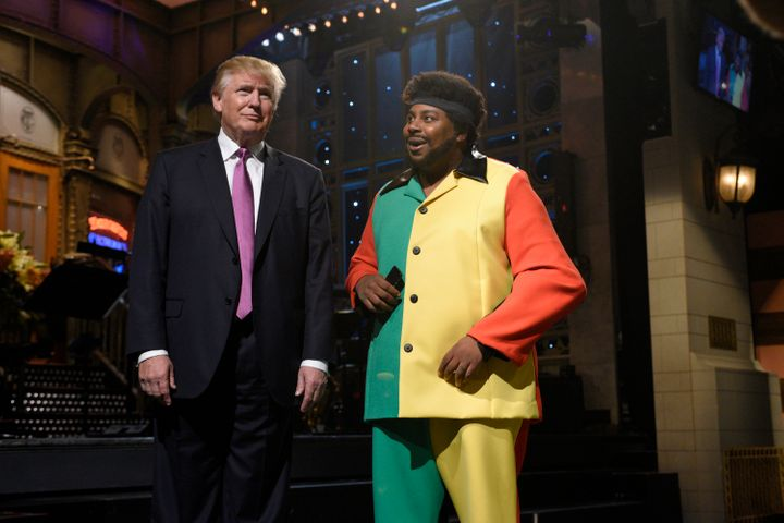 "Donald Trump hosting ""SNL"" on Nov. 7, 2015."