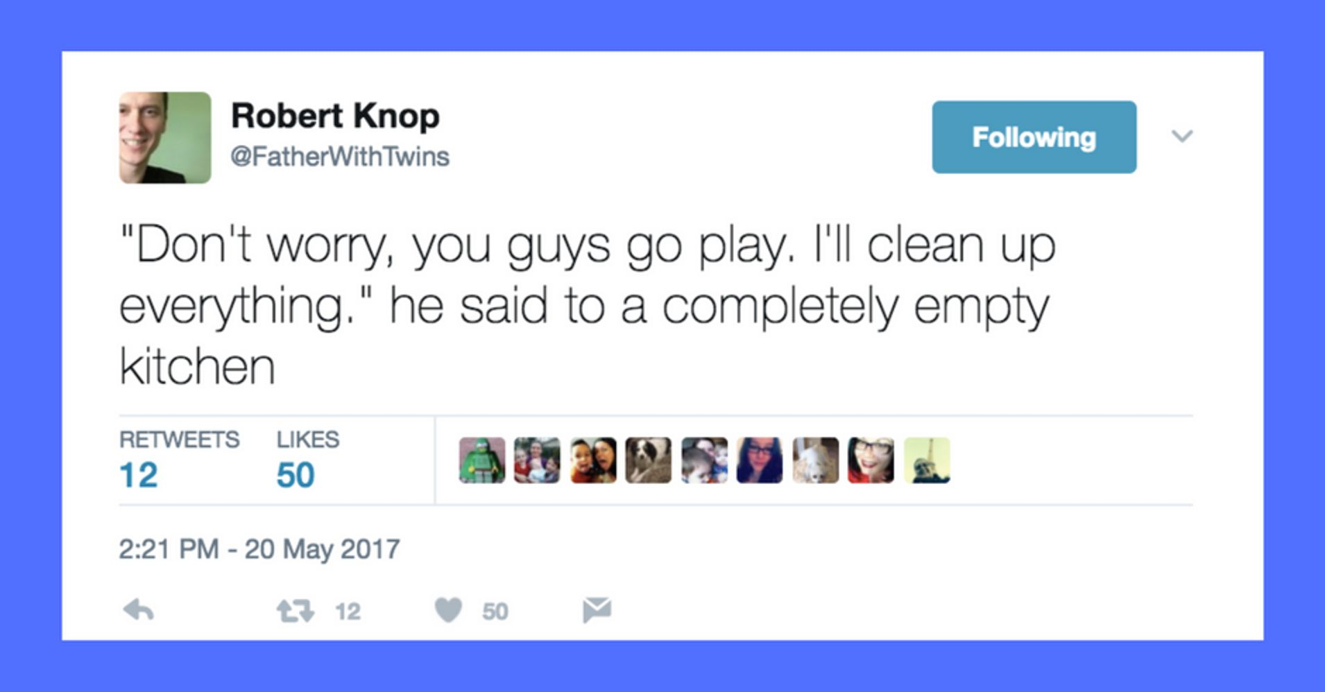 This Dad Has Mastered The Art Of Tweeting About Parenting HuffPost - The 20 funniest tweets from parents since 2017
