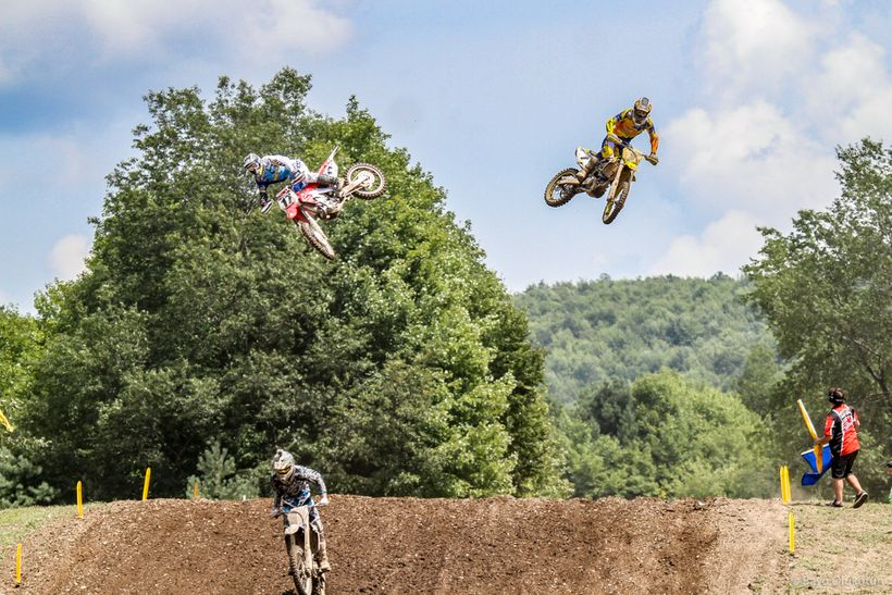 In 2011, Team Honda decided to bump Justin Barcia (left) up to the 450 class for the last few outdoor rounds. Unfortunately f