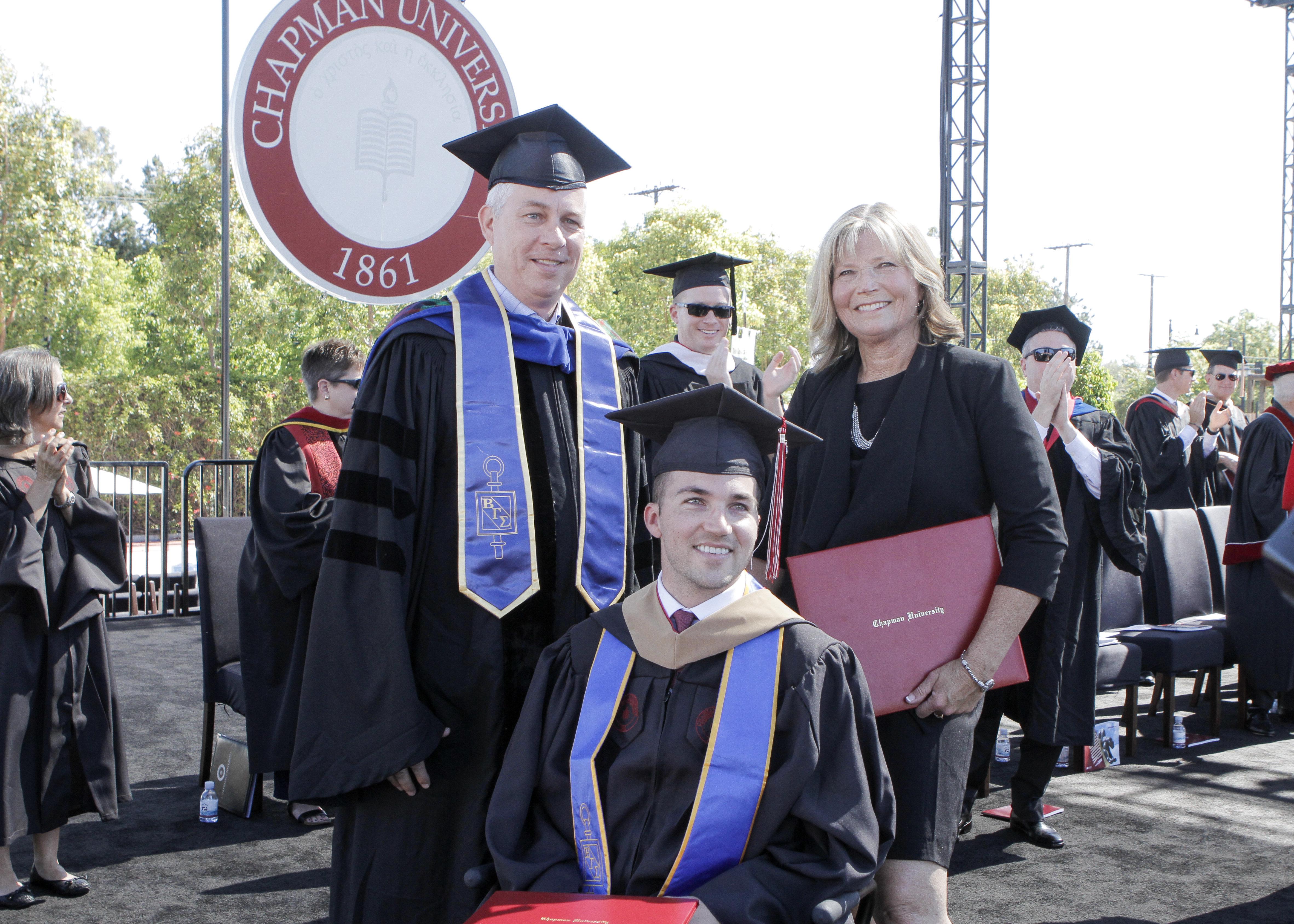 Mom Receives Honorary Degree After Helping Quadriplegic Son