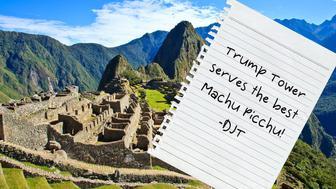 Machu Picchu is a 15th century Inca site located 2,430 metres above sea level on a mountain ridge above the Urubamba Valley. Machu Picchu was declared a Peruvian Historical Sanctuary.
