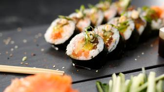 Cuisines of the world, Japanese sushi