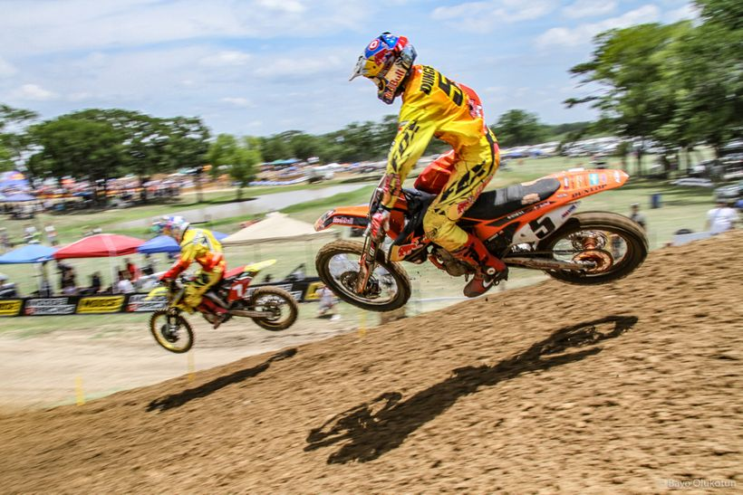 A week after Hangtown, the Stewart-Dungey duo once again went head-to-head, this time at the Freestone National in Texas. Add
