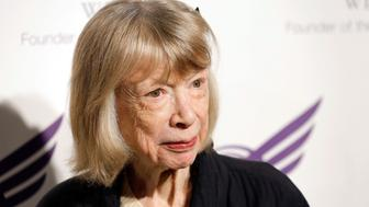 NEW YORK, NY - SEPTEMBER 24:  Joan Didion attends The American Theatre Wing's 2012 Annual Gala at The Plaza Hotel on September 24, 2012 in New York City.  (Photo by Jemal Countess/Getty Images)