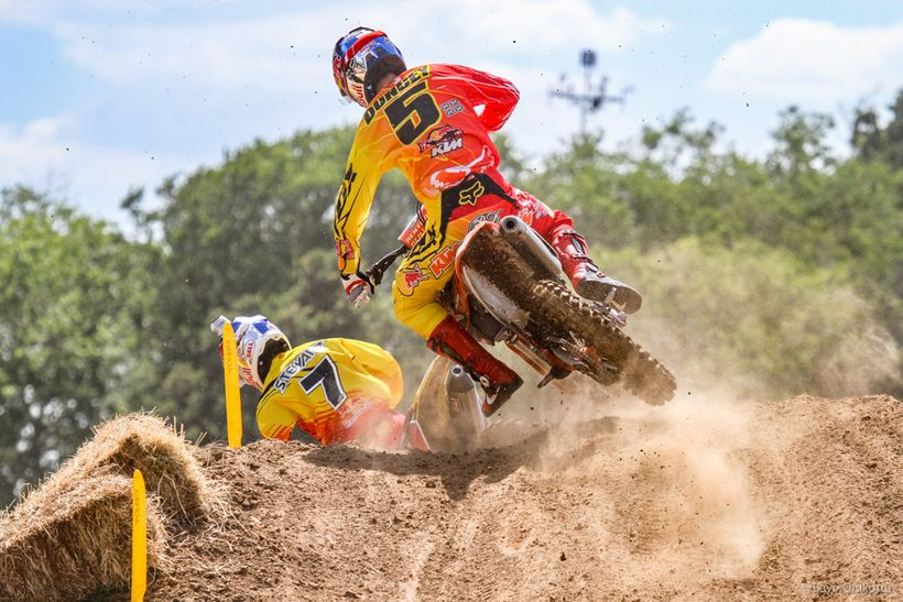 Once again, James Stewart came out ahead of the Freestone duel. However, that would be the end of Stewart's hold on the red l