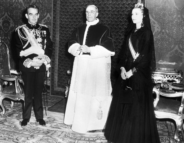 Charlene'slate mother-in-law Princess Grace, who was raised Catholic and married into the same Catholic monarchy, never