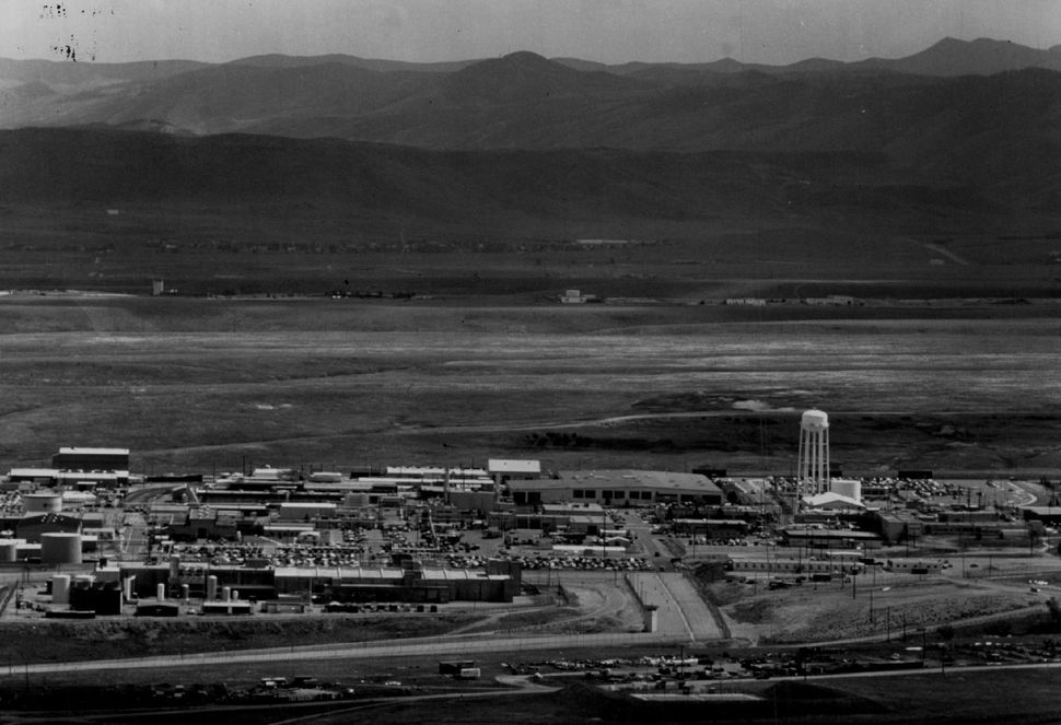 Rocky Flats on June 9, 1989, three days after FBI agents raided the Department of Energy site.