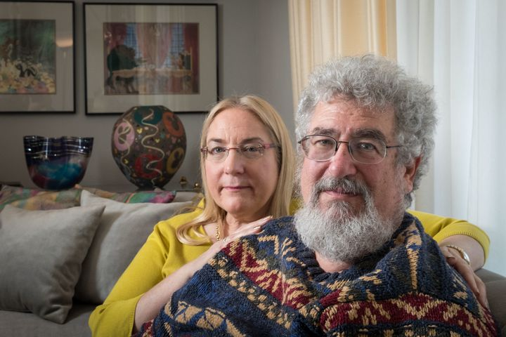 "Mary and Joel Rich say their son's murder has been ""turned into a political football."""