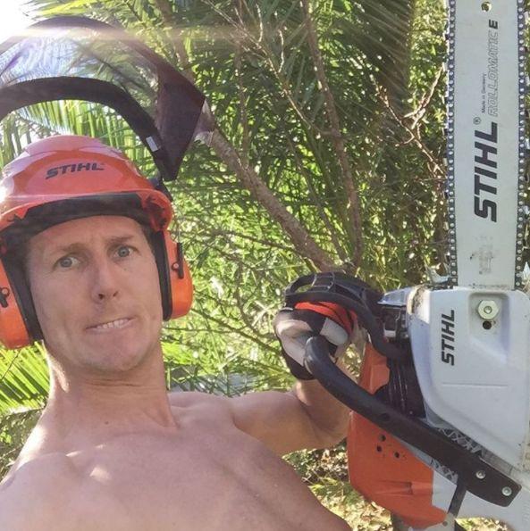 'Strictly' Star Brendan Cole Cheats Death In Freak Chainsaw