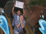 Couple's Splash Mountain Wedding Proposal Will Remind You Love Wins