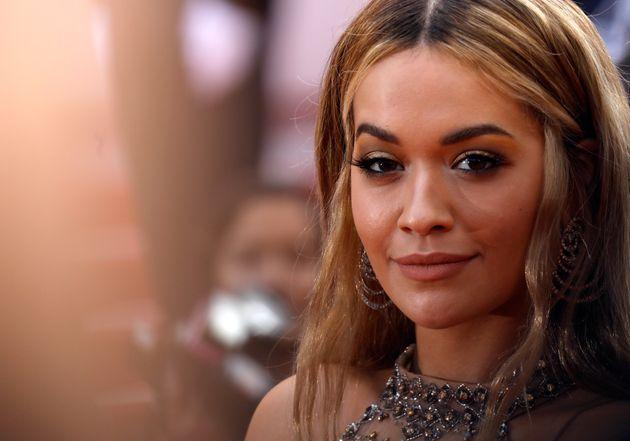 Rita Ora attends the 70th Anniversary of the 70th annual Cannes Film Festival at Palais des Festivals...