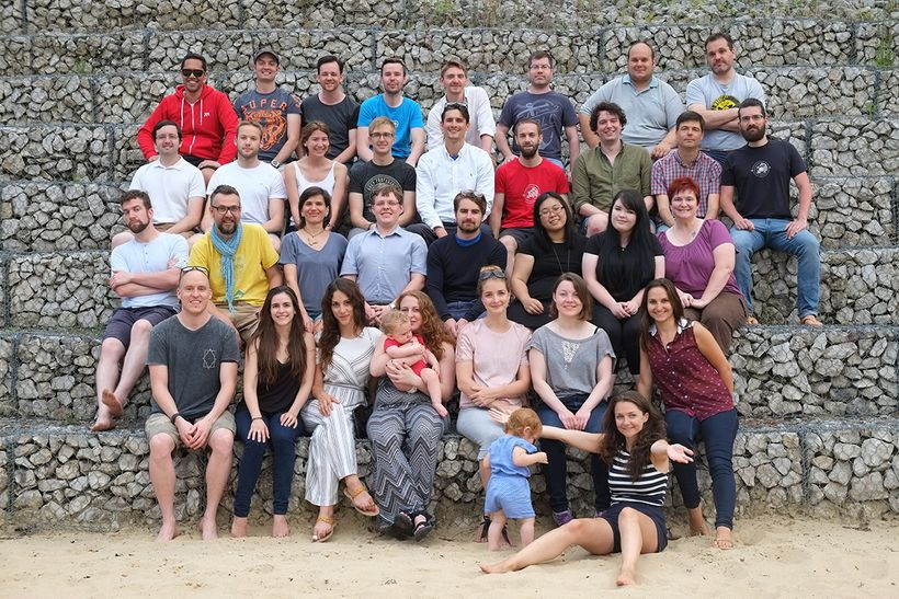 Human Made's annual team retreat, July 2016, Slovakia.