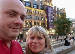 Heartbreaking Selfie Of Blast Death Couple Taken Hours Before Picking Up Daughters