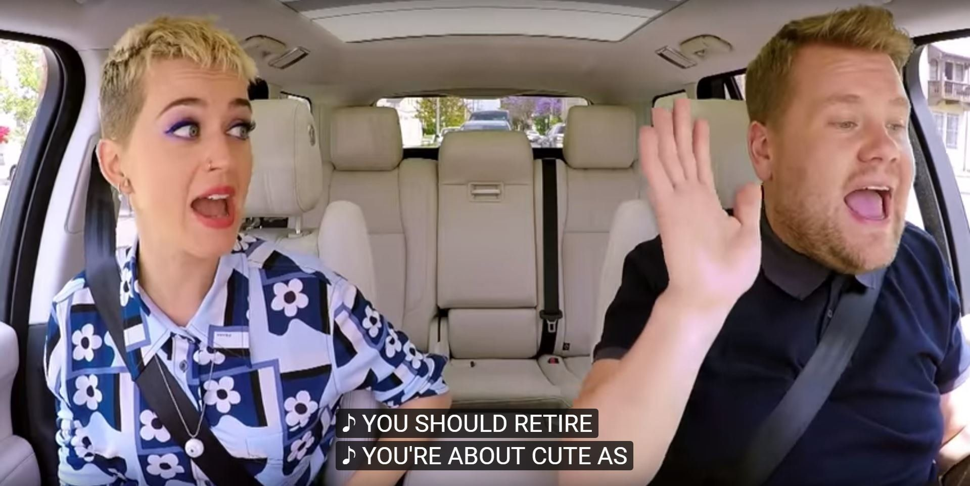 Katy Perry's Carpool Karaoke Serves As A 13-Minute Reminder Of What A Brilliant Pop Star She