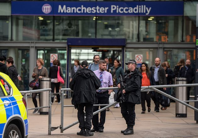 An increased presence of armed police will be noticed by commuters across the