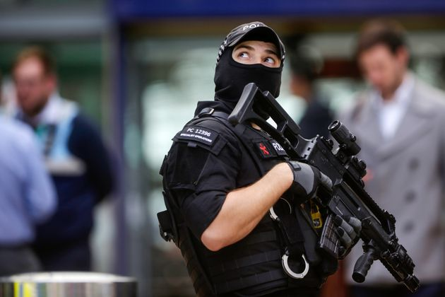Increased security measures were in place by Tuesday evening across the UK, including in