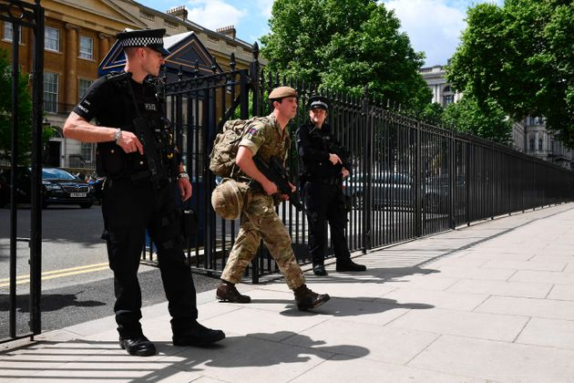 Soldiers will work alongside armed police to secure key sites across the