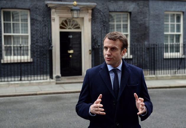 Arsene Wenger said Emmanuel Macron was 'really