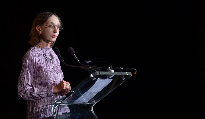 Author Joyce Carol Oates at the New York Public Library, October 17, 2013.