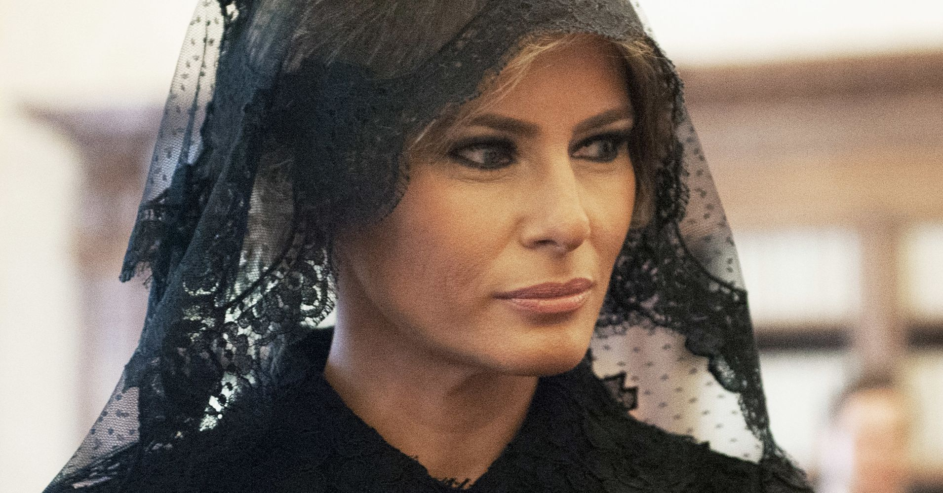 Silverado Black Ops >> Here's Why Melania Trump Wore Black To Meet The Pope ...
