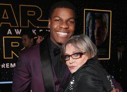 John Boyega Reveals Sage Advice Carrie Fisher Gave After Racist Backlash Against His 'Star Wars' Casting