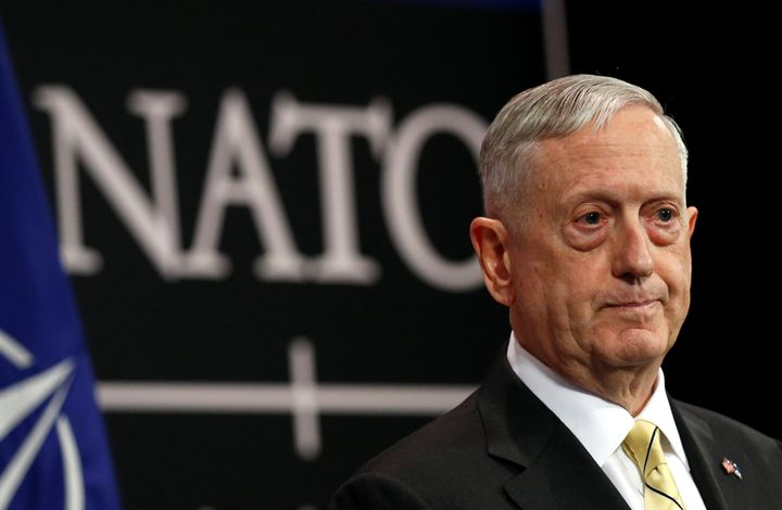 "U.S. Defense Secretary Jim Mattis, who met with his NATO counterparts in February, jokingly referred to himself as the ""Secre"