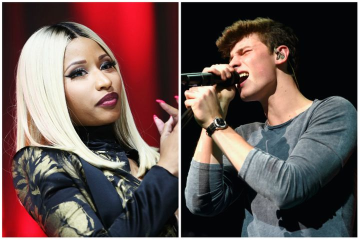 Nicki Minaj and Shawn Mendes have both stated publicly that they will not stop playing live as a result of the deadly Manches