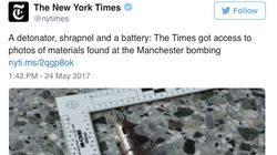 Anger As New York Times Publishes Photos Of Manchester Bomb